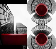 Before/After: Chicago Abstract by braxtonds