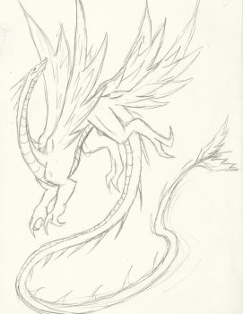 Wind Dragon by The-Insignia