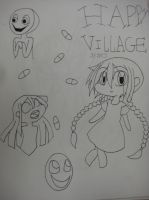Happy village by freaky4manga