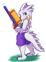 Squirt Gun - Commission by strawberryneko33