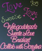 Sweetie Love Brush Collab by webgoddess