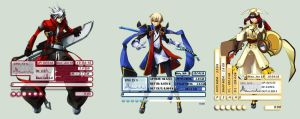 BlazBLue Rainmeter Compilation #1 by seraphimax