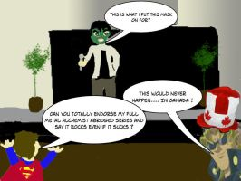 The Mask Incident and LK by Risingstar9109