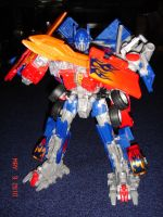 T2 Optimus Prime Robot Mode by kilp007