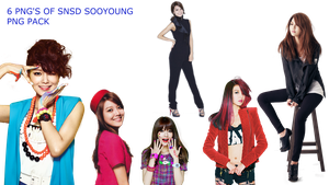 SNSD SOOYOUNG PNG PACK by Acoojoy13
