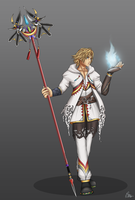 B-tan's White Mage by Vianiel
