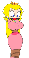 Princess Peach Tied Up by SofiesGals