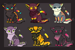 Little Kitties Batch 4 [CLOSED] by Xecax