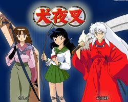 Inuyasha Characters by Meow-chi