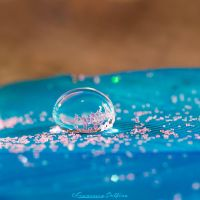 59. Blue drop by FrancescaDelfino