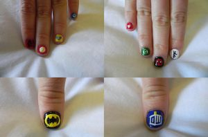 Nerd Nails by Sakrea