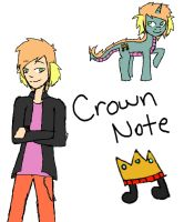 Character Profile: Crown Note by 15MadyCat