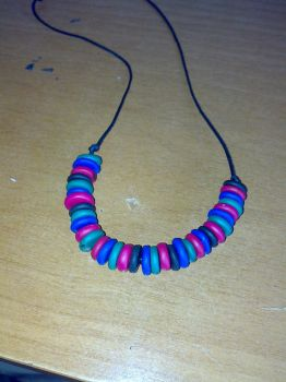 collana in fimo by LaBoutiquedelfimo