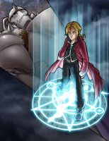 FullMetal Alchemist by ComfortLove