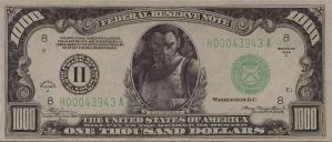 The Suffering: Torque 1,000 Dollar Bill by TorquesAngel
