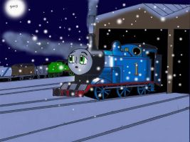 Old Thomas Christmas Pic by Trurotaketwo
