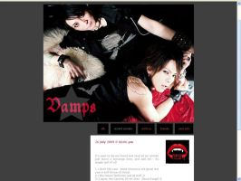 LiveJournal Layout: VAMPS by one-slip