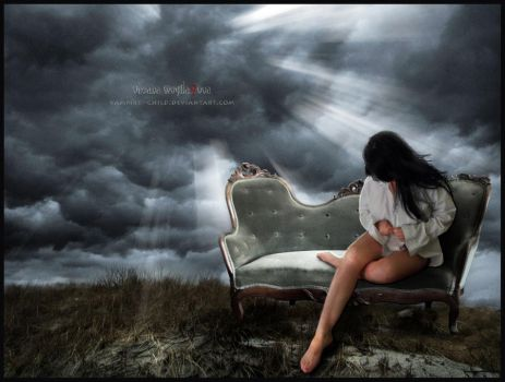 Beauty of loneliness... by Vampire--Child