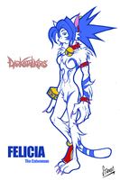 Darkstalkers EXTREME: Felicia by chinaguy16