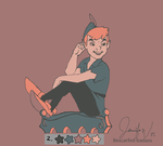 Peter Pan in Palette 2 by bescarfed-badass