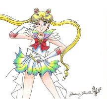 Super Sailor Moon by MagicalDragon8