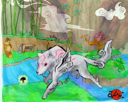 Okami Wii Contest Entry by Frootytoo
