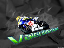 Valentino Rossi by arselife