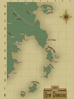 Pirate Map by GarrettDMorrison