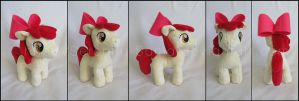 Plushie: Apple Bloom - MLP: FiM by Serenity-Sama