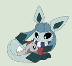 Pokemon Base 183~Eevee and Glaceon~ by Xbox-DS-Gameboy