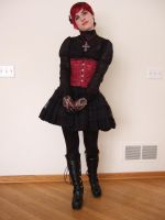 Gothic Lolita 1 by Stocked-N-Loaded