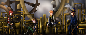 Roomates Contest : Steampunk by TheNotQuiteGinger
