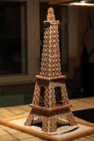 Gingerbread Eiffel Tower I by Avalon90