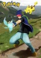 Ash Ketchum (redesigned) by TheMataSatu