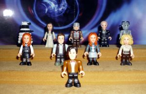Dr Who Mirco Figures Set 2 by CyberDrone