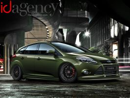 iD Agency Ford Focus - SEMA 2011 by jonsibal