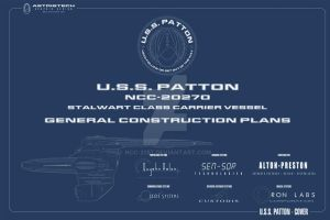 USS Patton Cover WIP by NCC-2357