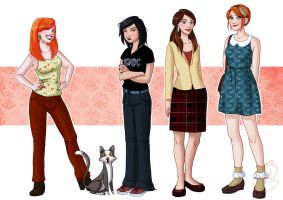 2013 Bennet Sisters by coda-leia