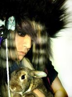 me and my bunny by gazobscene