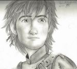 Hiccup - How to Train Your Dragon 2 pencil by E-Kathryn