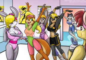 The Aerobics by greycat-rademenes