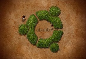 Ubuntu-Wallpaper by Chrisdesign