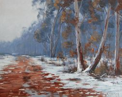Australian Snowscape by artsaus