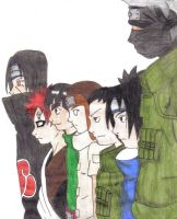Some Naruto Characters by Ditt-The-SoulEater
