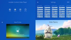 Invisible Controls Video Player for Windows 8/8.1 by Kishan-Bagaria