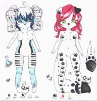 : Cash adoptable set : by Row-chan