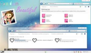 Tema Iconpackager Random Beautiful by MileTutos