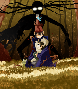 Over The Garden Wall - The Unknown Fall by CoolFireBird