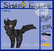 Storm's Sheet by stranglerfig