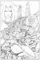 Robotech tryout for Dreamwave by GuidoGuidi